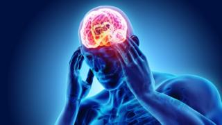 Ilustración cerebro.