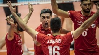 تیم والیبال ایران