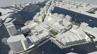 """The """"box village"""" would form part of the wider £300m project"""