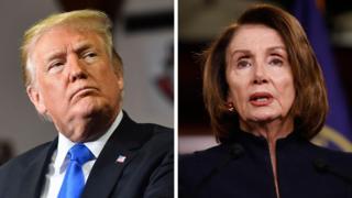 Trump y Nancy Pelos 2019.