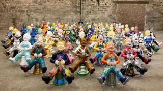 Oor Wullie Dundee sculptures