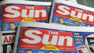 Sun on Sunday masthead