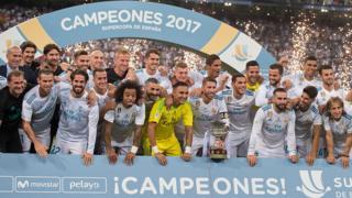Super coupe d'Espagne, victoire du Real Madrid