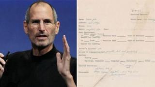 'अॅपल' कंपनीचे संस्थापक स्टीव्ह जॉब्स