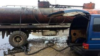 Цистерна для нафти