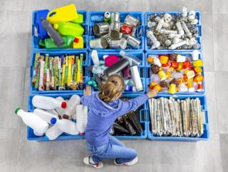 Slight fall in Scotland's domestic recycling rate