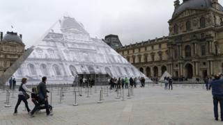 Le Louvre in Paris