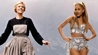 Julie Andrews and Ariana Grande.