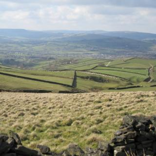 The Peak District in Derbyshire