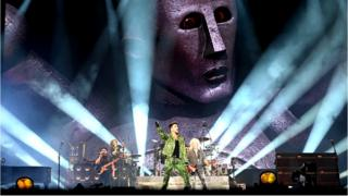 Queen and Adam Lambert perform at the Fire Fight Australia, a concert for National Bushfire Relief in Sydney, 16 February 2020