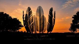 Sculpture marks Choctaw generosity to Irish famine victims