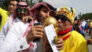 المونديال يبدأ بمباراة روسيا والسعودية