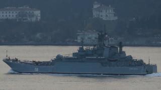 Russia's Caesar Kunikov landing ship,