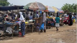 Un marché du Burkina Faso