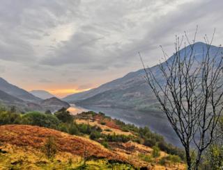 Glencoe sunset