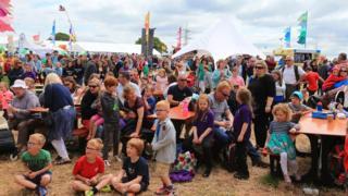 Crowds at last year's Urdd Eisteddfod, held at Flint High School