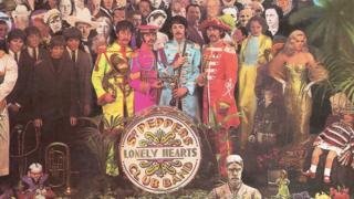 Sgt Pepper's Lonely Hearts Club cover