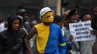 afrique du sud, étudiants