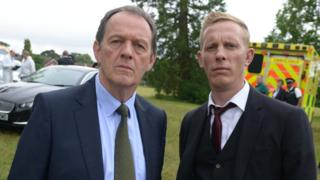 Kevin Whately and Laurence Fox in Lewis
