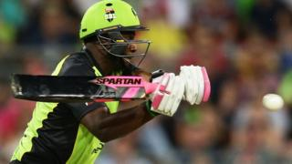Andre Russell of Sydney Thunder