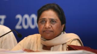 Uttar Pradesh Chief Minister and BSP supremo Mayawati addresses a media conference on Nuclear Deal at Oberoi hotel, on September 6, 2008 in New Delhi, India