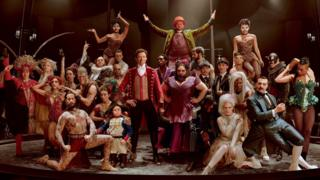 P.T. Barnum (Hugh Jackman) comes alive with the oddities in Twentieth Century Fox's film THE GREATEST SHOWMAN