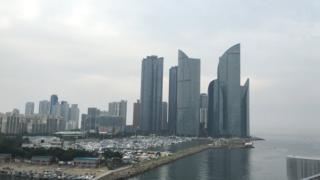 Pusan, Marina markazi