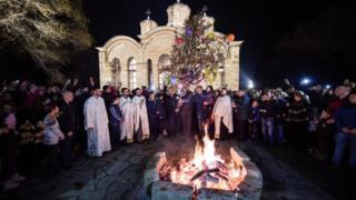 Рождество в Косово