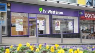 A branch of West Bromwich Building Society