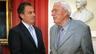 Tony Blair and Ian Paisley