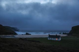 Kervaig Bothy at Cape Wrath