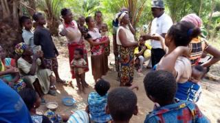 Cameroon refugee dem