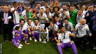 Real Madrid ayaa sannadkii hore garaacday Juventus iyadoo sidaa ku noqotay kooxdii koobaad ee difaacata Champions League