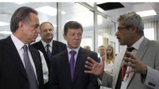 Григорий Родченков, Дмитрий Козак, Виталий Мутко