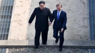 कोरियाली नेताहरू