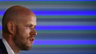 Spotify founder Daniel Ek