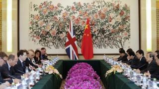 UK China trade talks