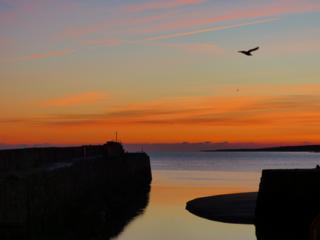 Sunrise over St Andrews