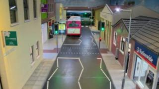 Model street at the Radar centre