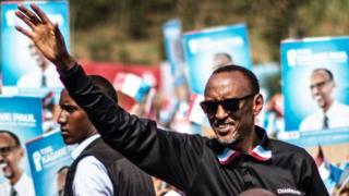 Madaxweyne Paul Kagame