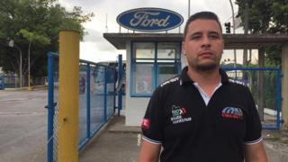 Gustavo Alves, de 30 anos, funcionário da Ford