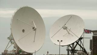 GCHQ satellite dishes