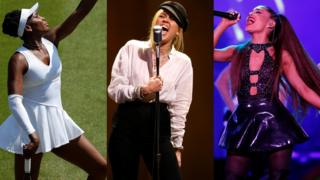 Venus Williams, Miley Cyrus et Ariana Grande