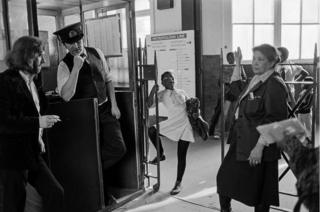 Ticket barrier, Westbourne Park, 1979