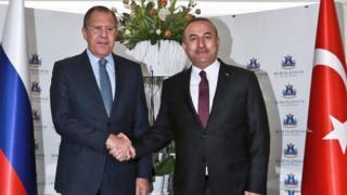 Sergey Lavrov ve Mevlüt Çavuşoğlu