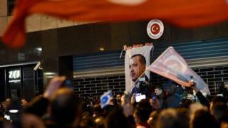 Erdoğan Hollanda protesto