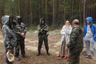 Активисты из Томска на вырубках