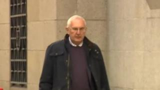 Vickery House arriving at the Old Bailey - 20/10/15