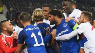 Everton and Lyon