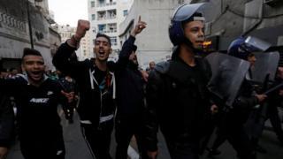 اعتراضات الجزایر